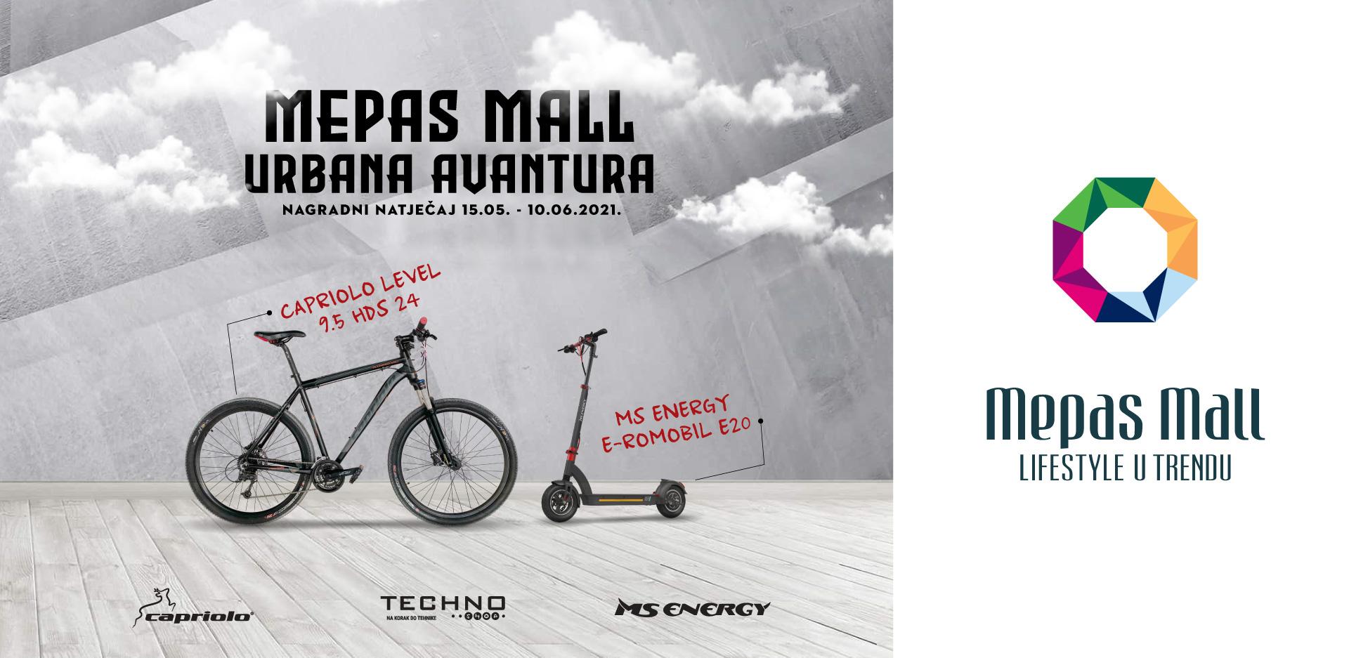 Mepas Mall Urbana avantura