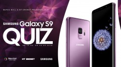 SAMSUNG GALAXY S9 QUIZ