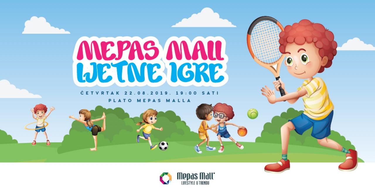 Mepas Mall Ljetne igre 2019