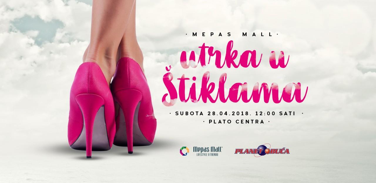 Prijavi se na Mepas Mall Utrku u štiklama i osvoji nagradu u vrijednosti 1000 KM!