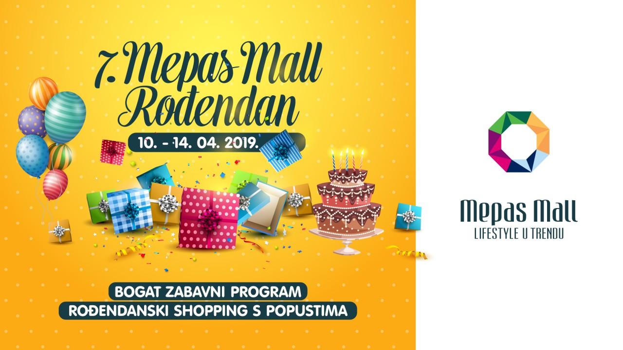ROĐENDANSKI POPUSTI U MEPAS MALLU!