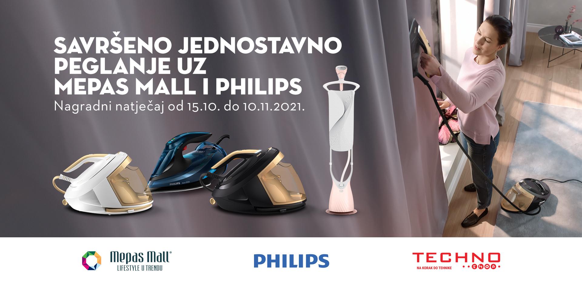 Savršeno jednostavno peglanje uz Mepas Mall i Philips