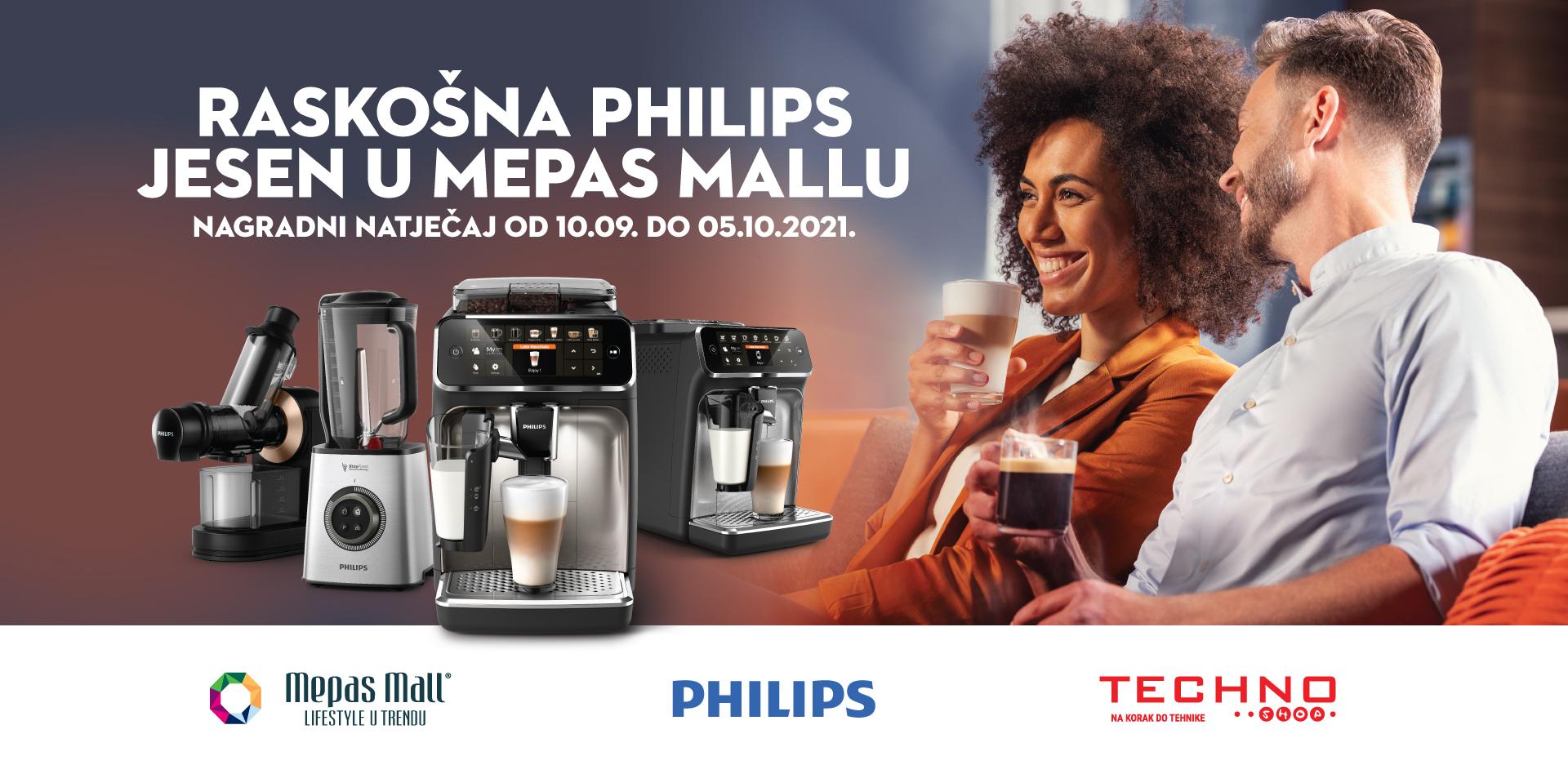 Raskošna Philips jesen u Mepas Mallu